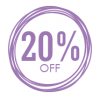 Sales Badge - 20% Off