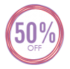 Sales Badge - 50% Off