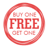 Sales Badge - Buy 1 Get 1 Free