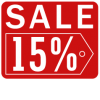 Sales Badge - 15% Off