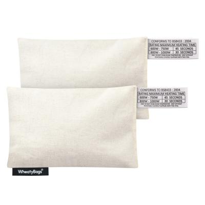Value Cotton Wheat Bags Small Rectangle Heat Pack - Pack of 2
