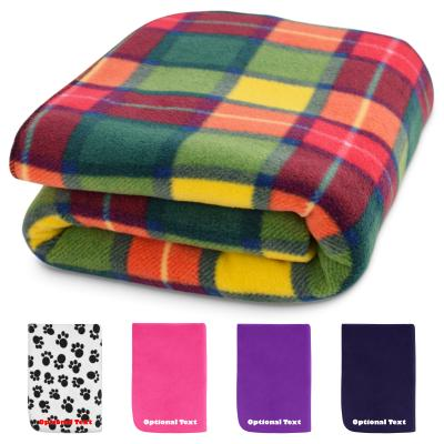 Personalised Fleece Blanket & Luxury Warmer