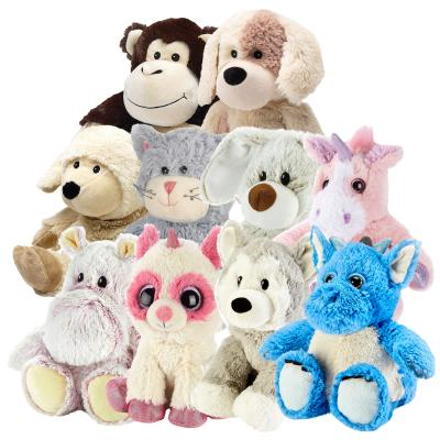 Cozy Plush microwave toys are a cuddly collection of heat packs which come in a range of animal designs
