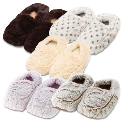 Warmies Heatable Slippers Microwave Heat Pack Montage Image