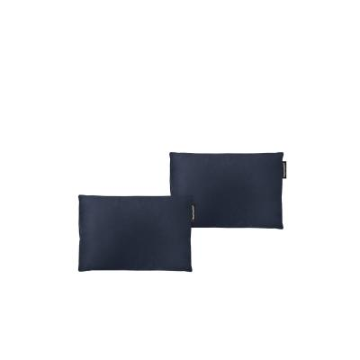 - 30cm x 20cm Twin Pack and Removable Cover - Navy Blue Cotton Fabric