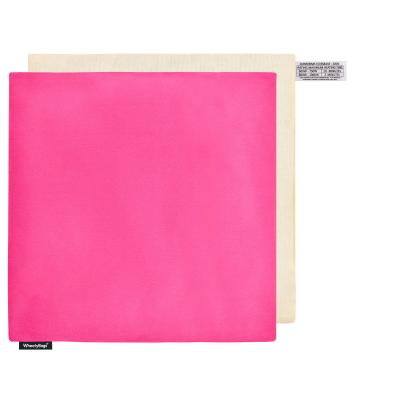 (34cm) - Bubblegum Pink Cotton Fabric and Removable Cover
